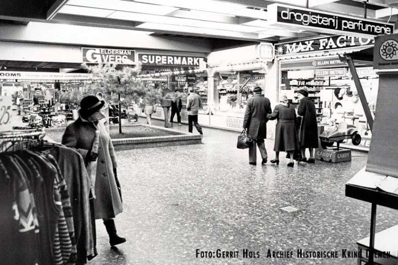 1985 Winkelcentrum Diemerplein