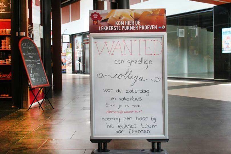 banen en baantjes winkels diemerplein