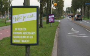 Mysterieuze posters Diemen