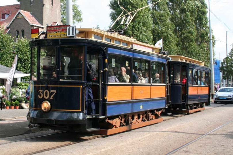 Oude tram lijn 9