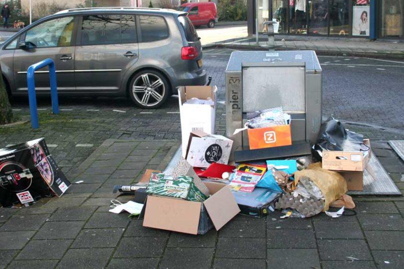 overschot afval